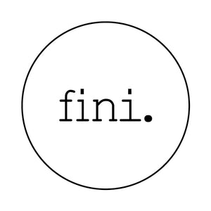 fini. the label