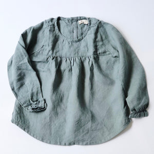 fini. clothing - linen blouse