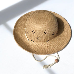 fini. summer straw hat
