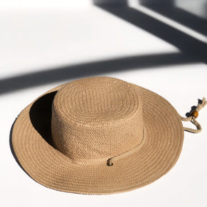 fini. parisian boater hat