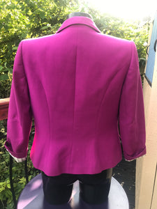 Reiss pink jacket