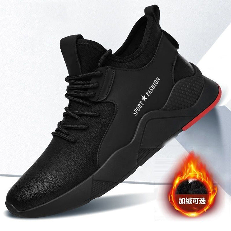 Classic fashion men casual shoes breathable walking shoes cheap injection sport shoes