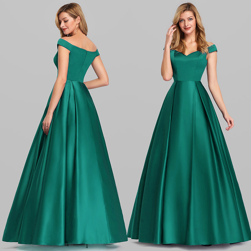 Ever-Pretty EP07934 Women's A-Line Off Shoulder Evening Dress