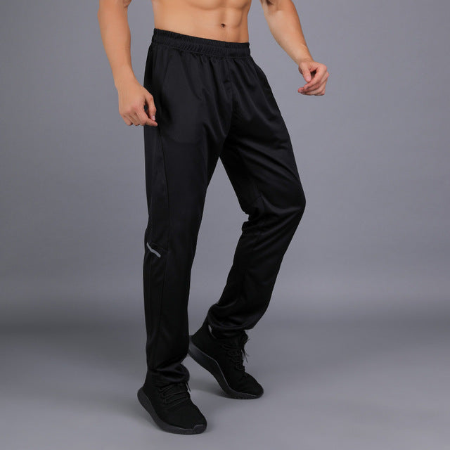 Men Trousers Summer Breathable Long Pants Running Basketball