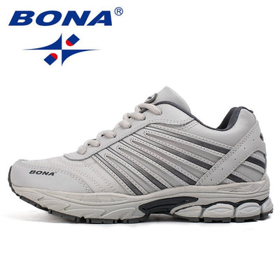 BONA New Basic Style Women Running Shoes Lace Up Sport Shoes