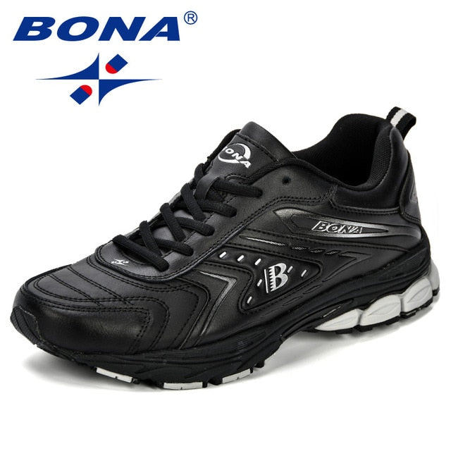 BONA Men Casual Shoes Brand Men Shoes Men Sneakers Flats Comfortable
