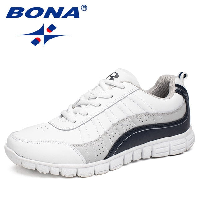 BONA New Hot Style Women Running Shoes Lace Up Athletic Shoes Outdoor