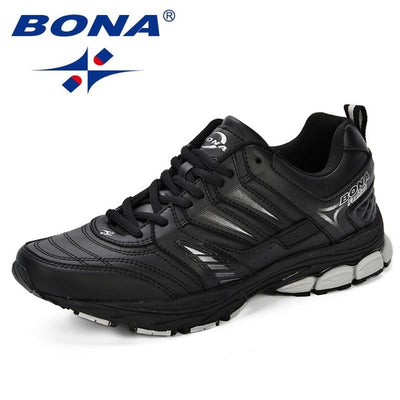 BONA 2018 New Design Style Men Shoes Breathable Popular Men Running Shoes