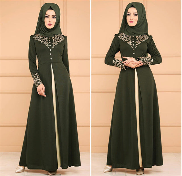 Abayas for women muslim dress women gamis muslim wanita robe