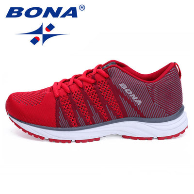BONA New Typical Style Women Running Shoes Outdoor Walking