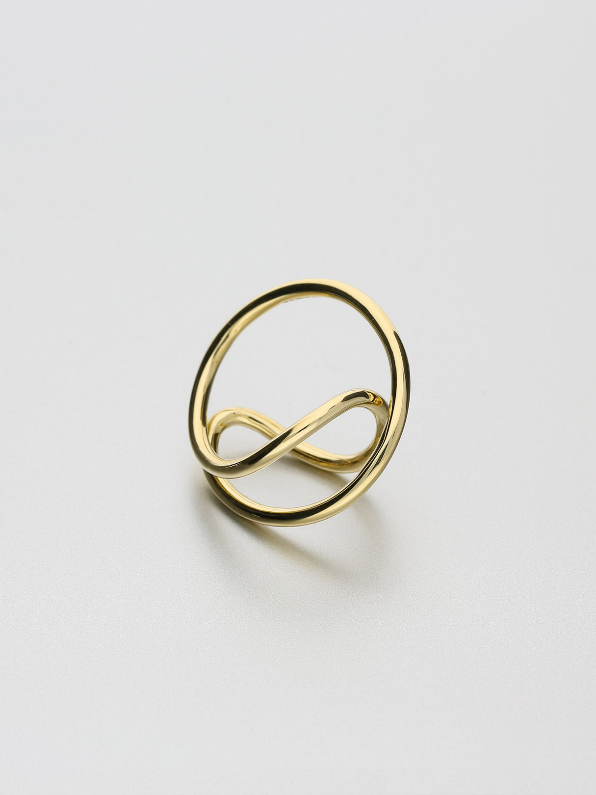 Aeon Ring, I Yellow gold