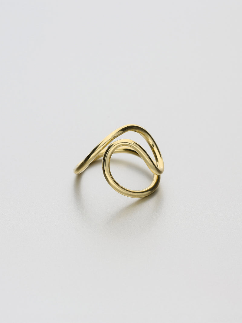 Aeon Ring, II Yellow gold
