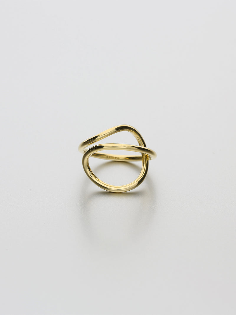 Aeon Ring, III Yellow gold