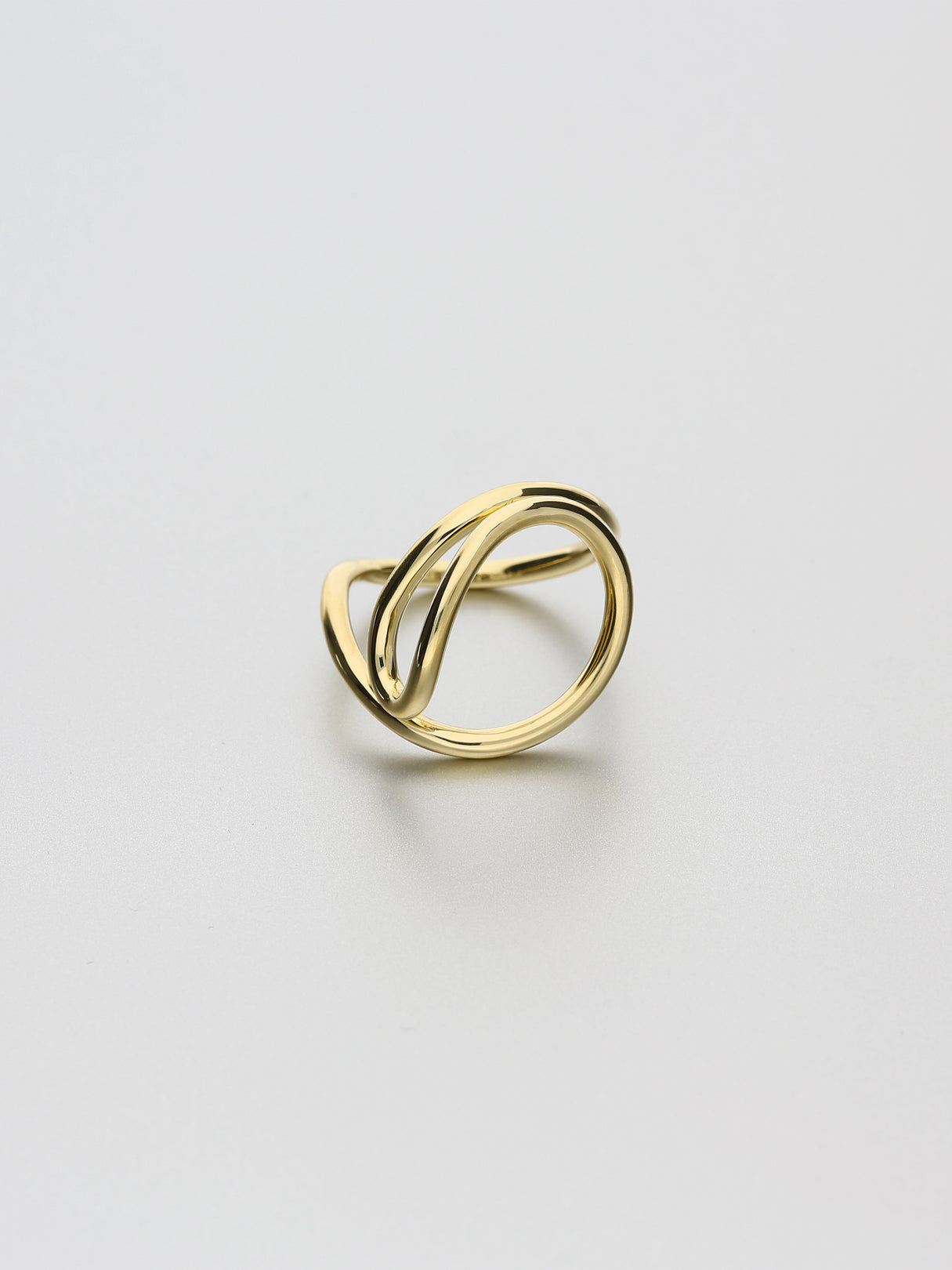 Aeon Ring, IV Yellow gold