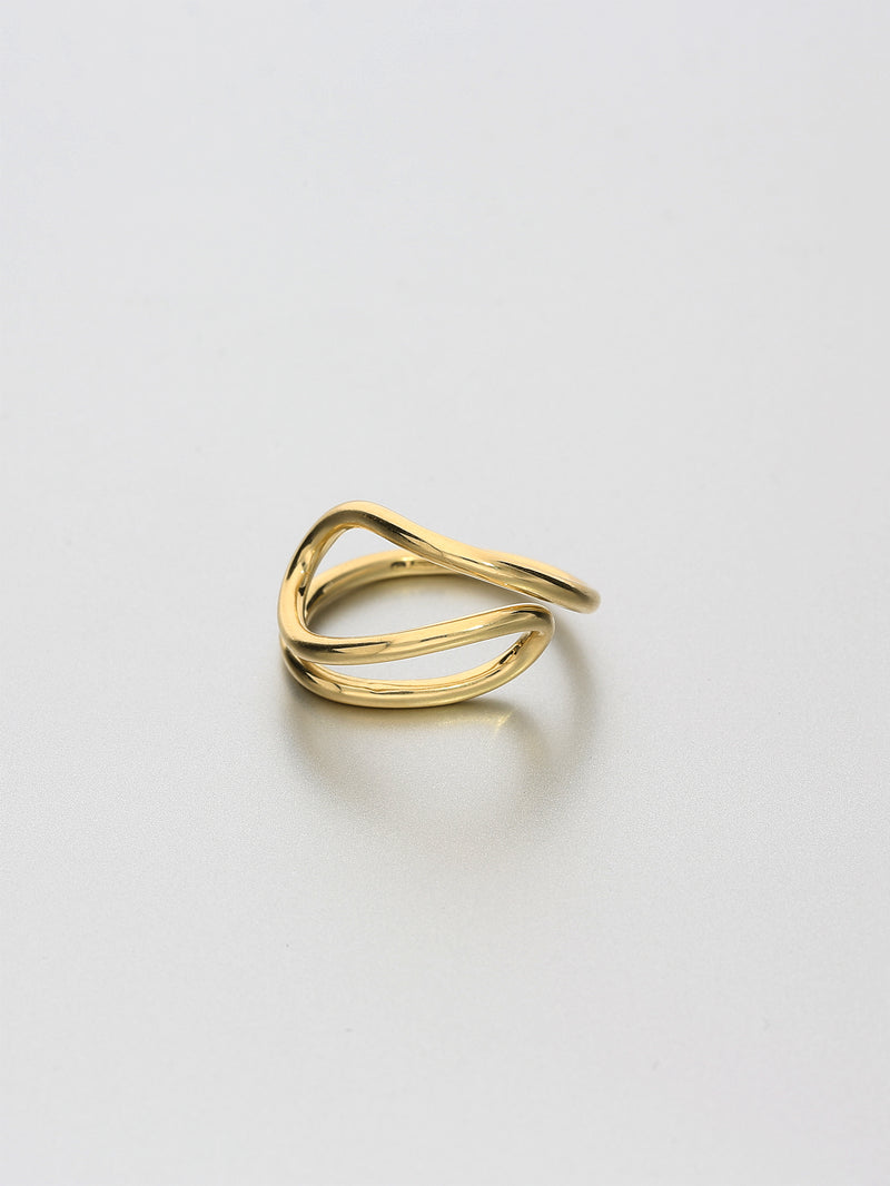 Aeon Ring, VI Yellow gold