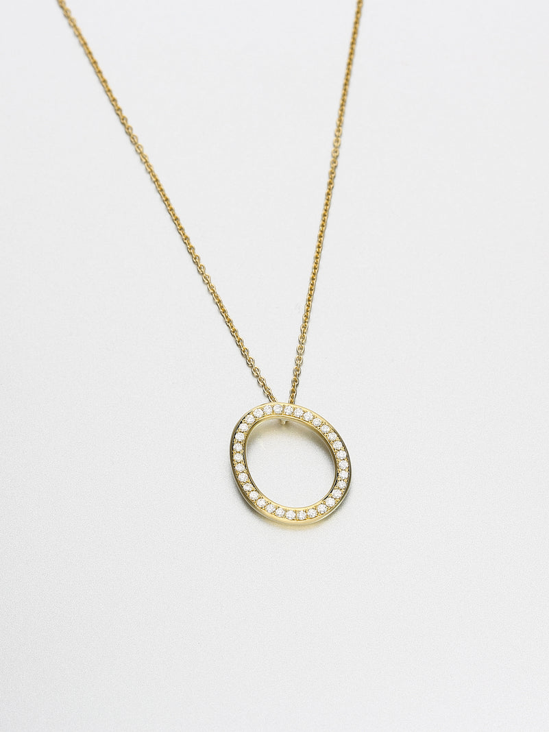 Ori Necklace, Yellow gold