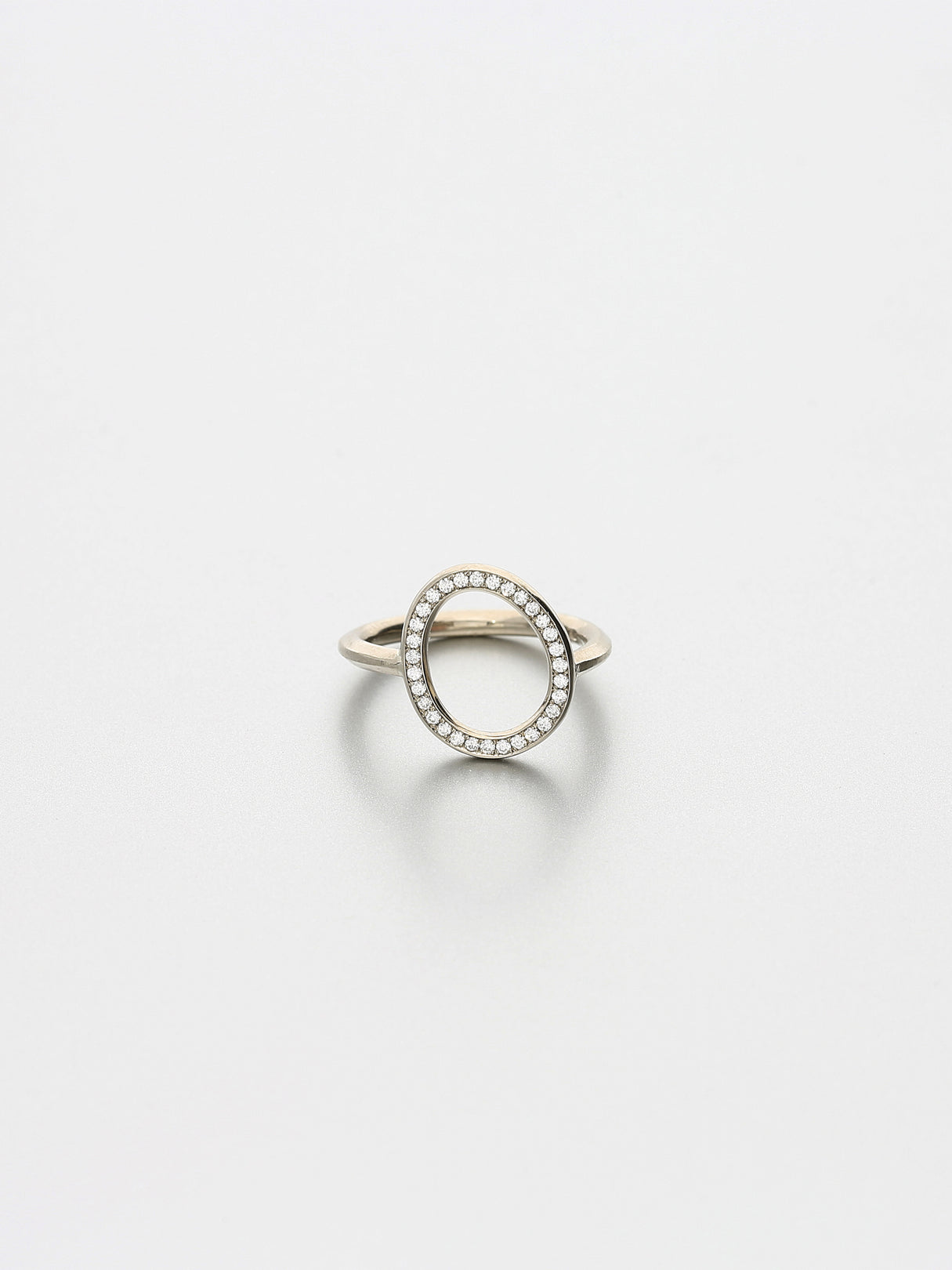 Ori Ring, White gold