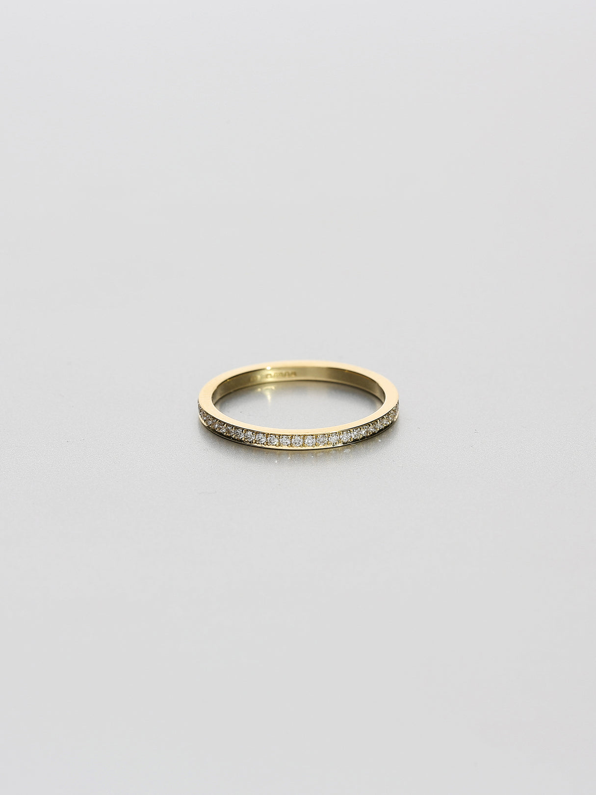 Fine Eternity square, Yellow gold
