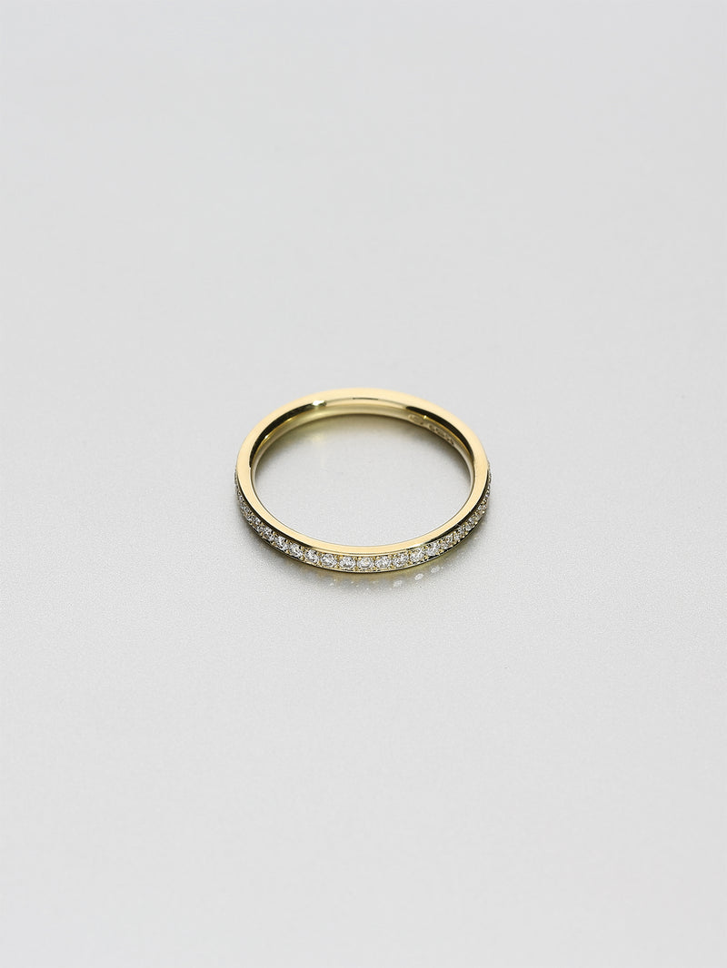 Classic Eternity oval, Yellow gold