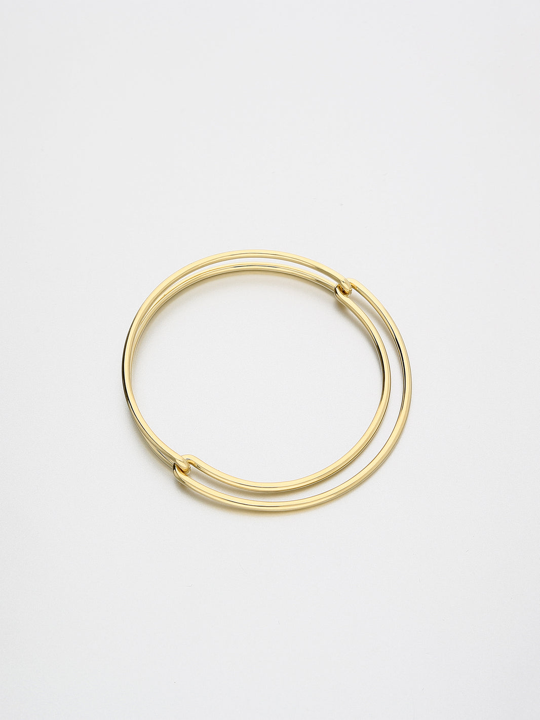 Segment Bangle, Yellow gold