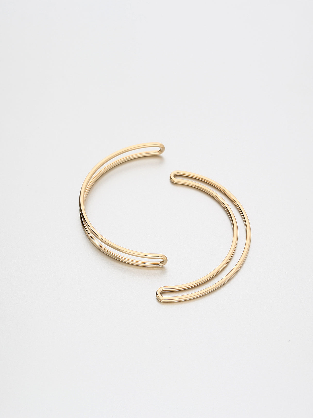 Segment Bangle, Rose gold