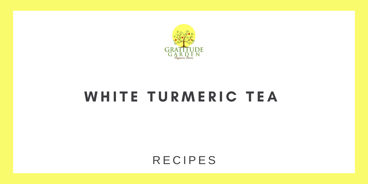 WHITE TURMERIC TEA