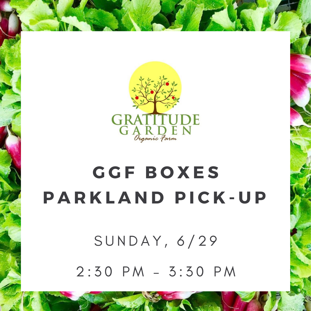 GGF BOXES - PARKLAND (LOCAL PICK-UP)