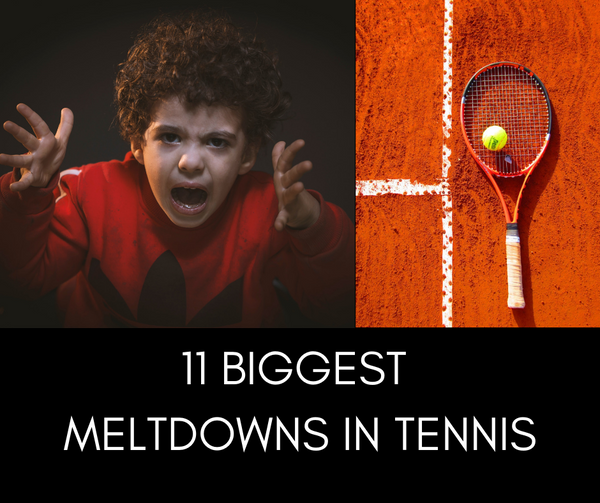 The Biggest Meltdowns in Tennis