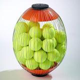 Additional Cage for Tennis Ball Collector with full sized tennis balls in by Kollectaball USA