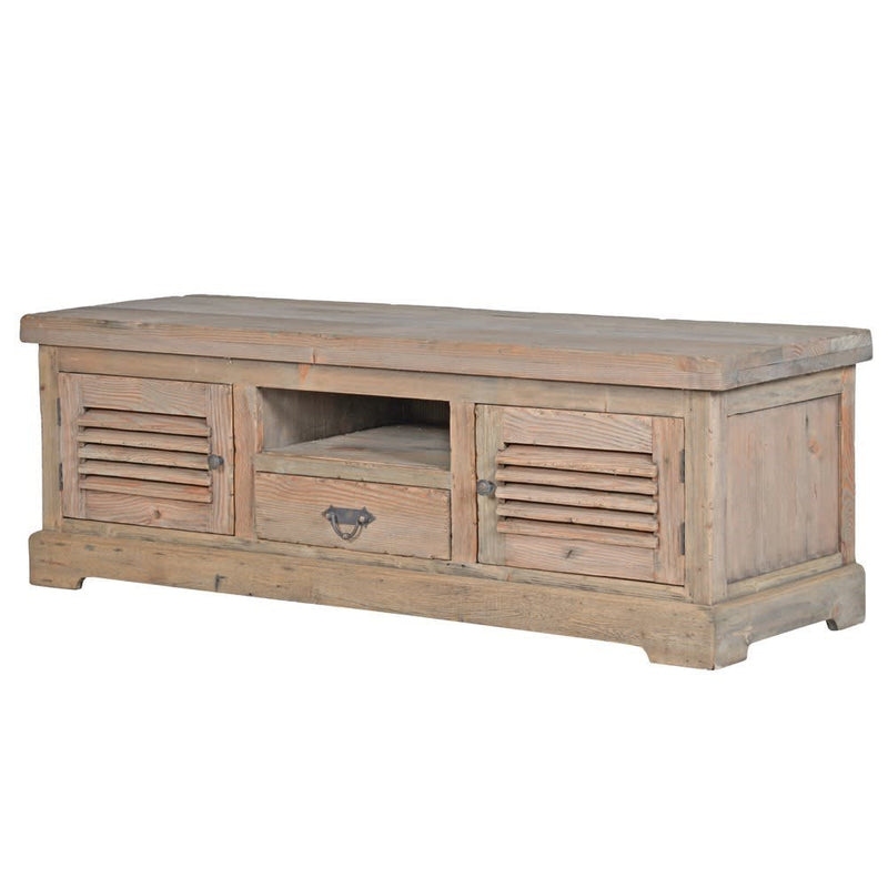Rustic Colonial Media Unit