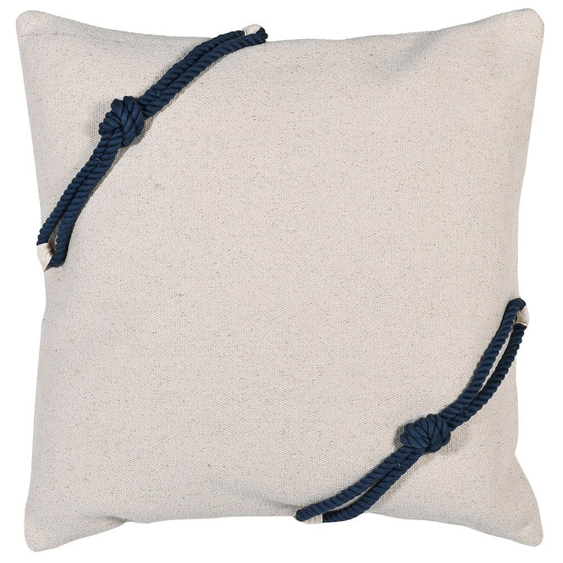 Navy Rope Cushion