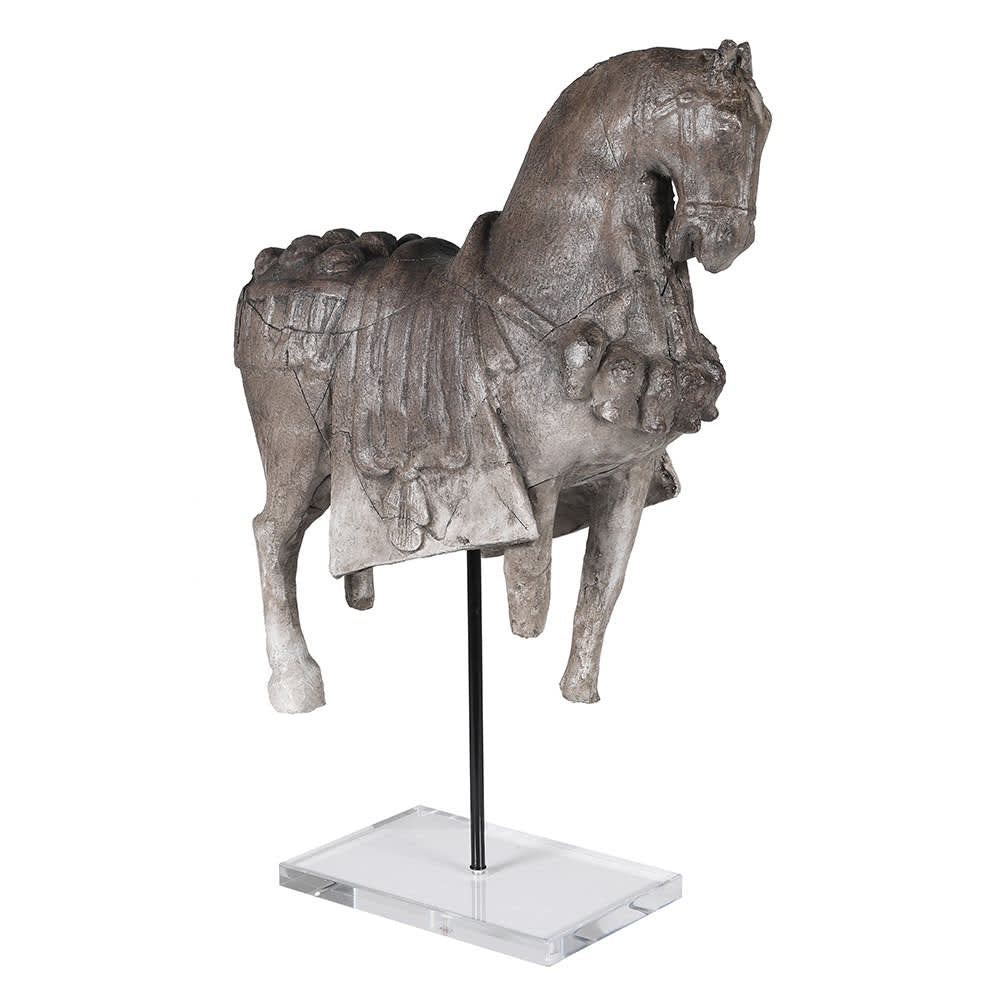 Large Resin Horse