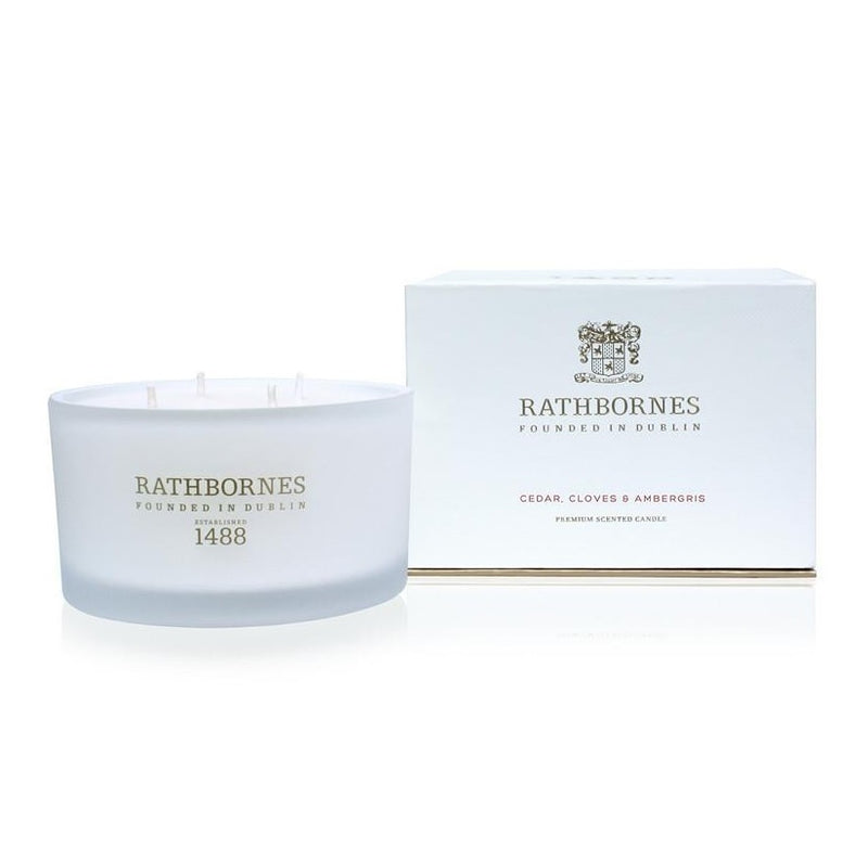 Rathbornes Luxury Candle Cedar 390g