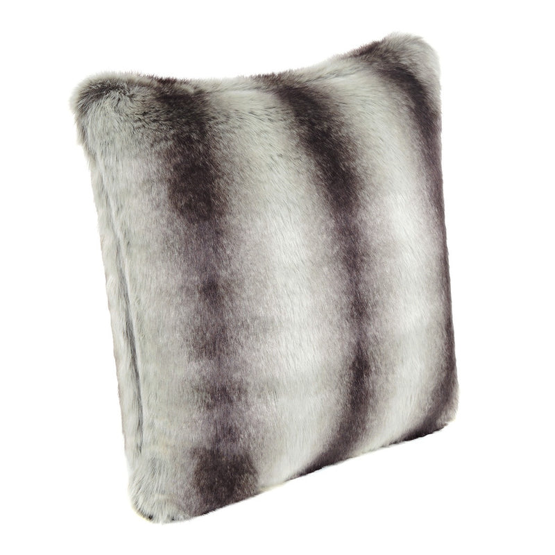Grey chinchilla cushion 40cm