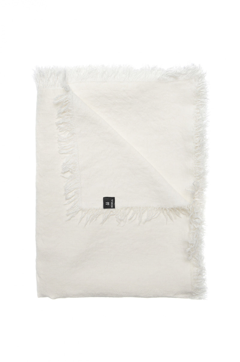 Himla Off White Merlin Throw