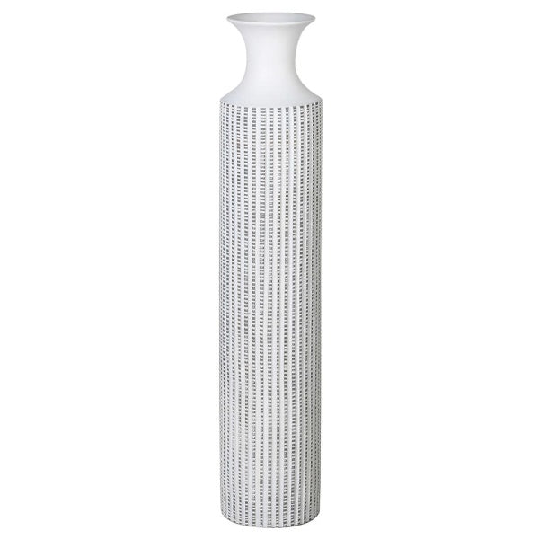 Stripe washed vase