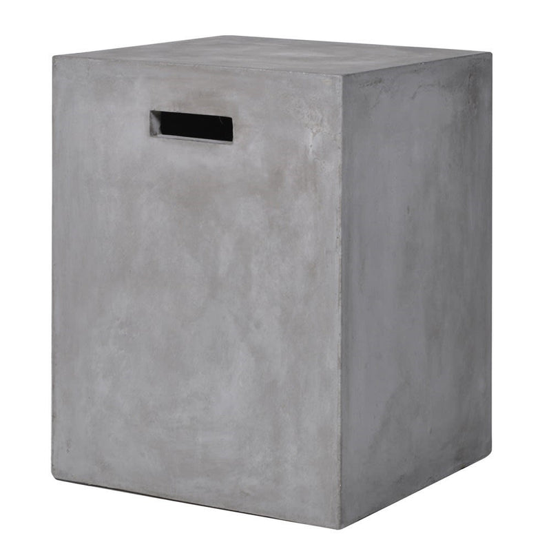 Concrete Cube Stool