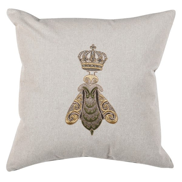 Crown Bee Cushion