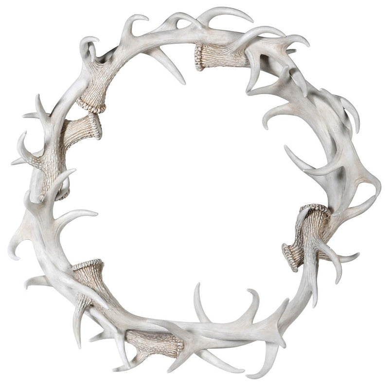 Grey Antler Wall Ring