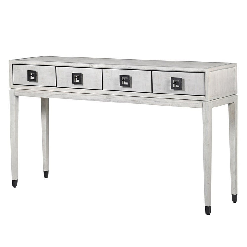 Light Grey Square Console Table