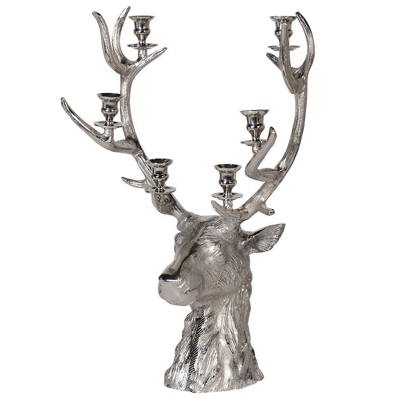 Small Reindeer Candle Holder