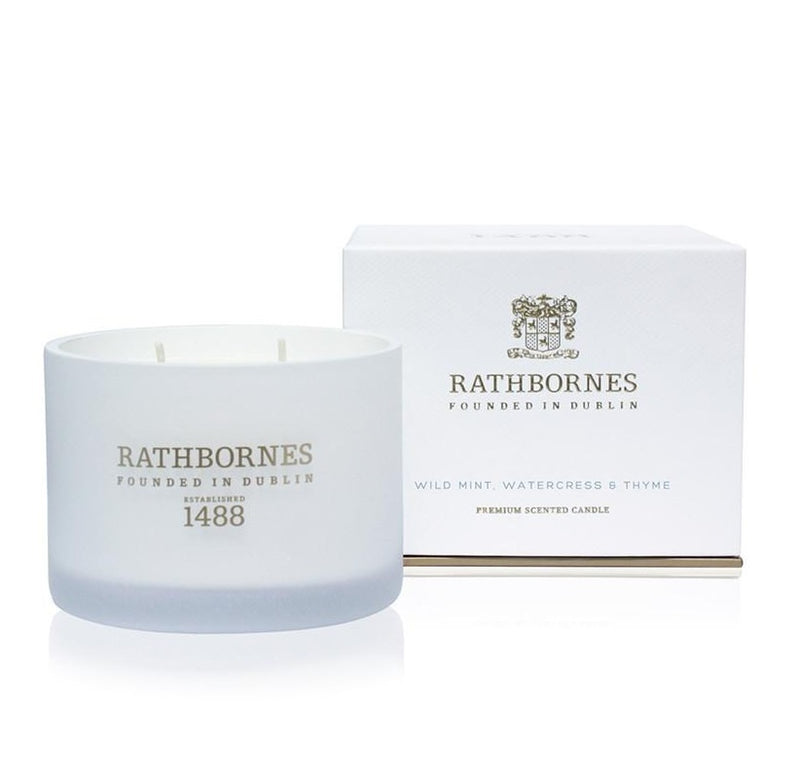 Rathbornes Classic Candle Wild Mint 190g