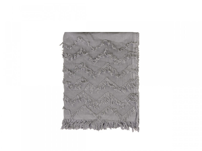 Mocca Fringe Throw