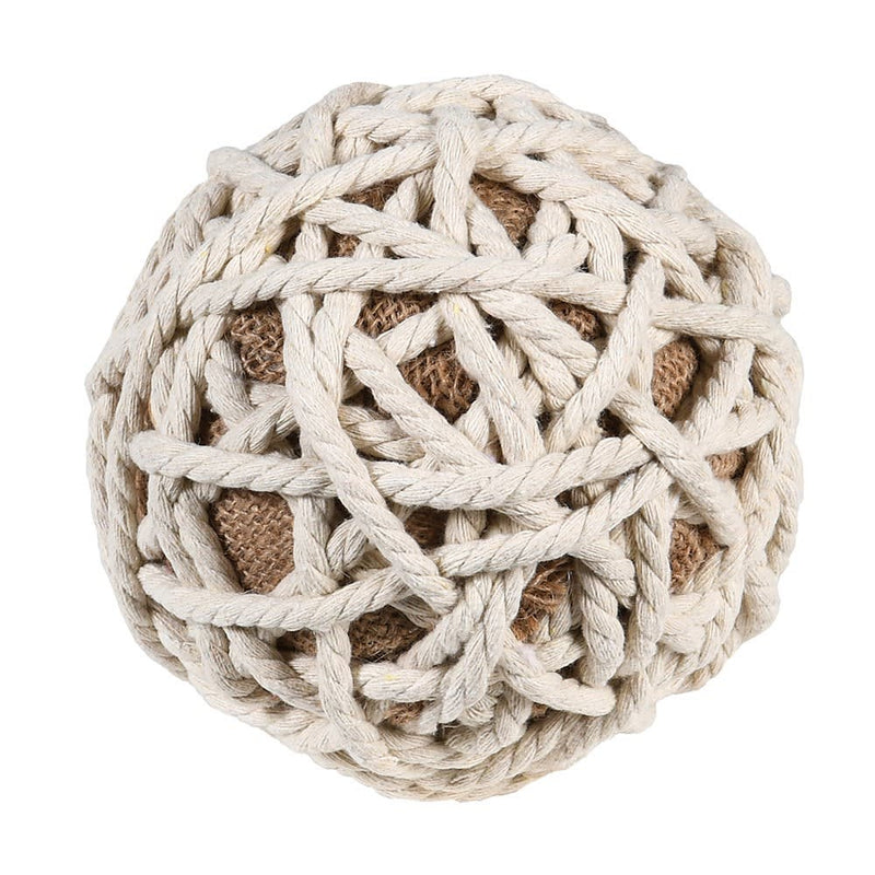 Nautical rope  ball decoration