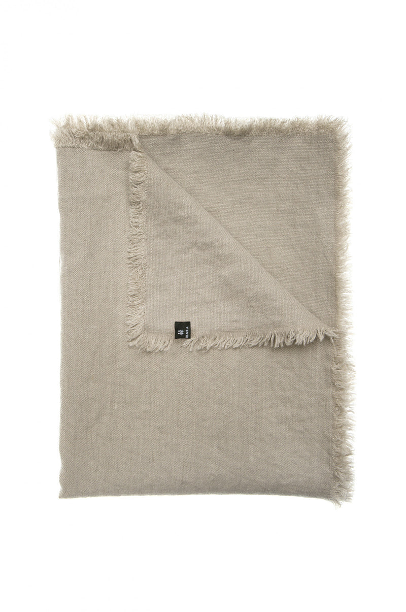 Himla Natural Merlin Throw