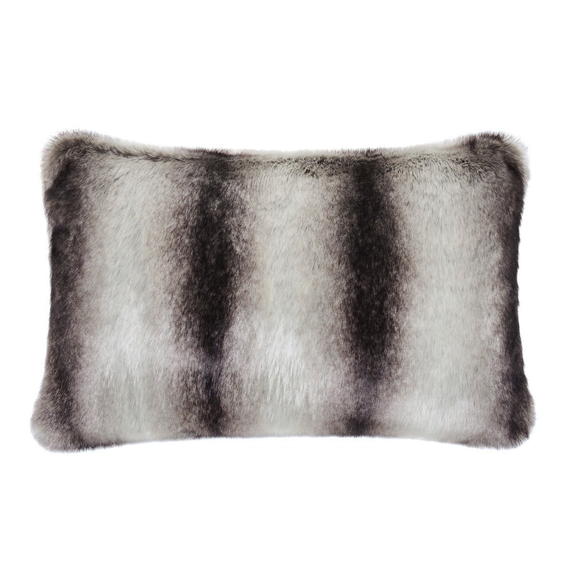 Grey chinchilla cushion 30x45cm