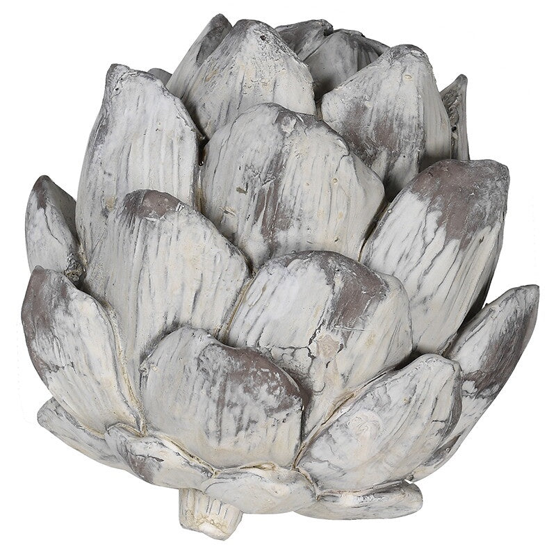 Ceramic distressed artichoke