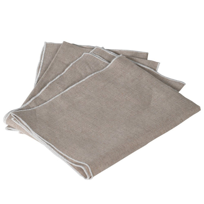 Set of 4 Linen napkin
