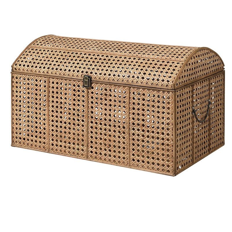 Domed rattan trunk