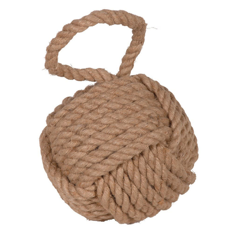 Nautical rope doorstop